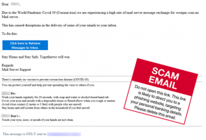 Scram From Email Scams